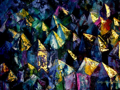 Jacqui Lown ~ Crystals